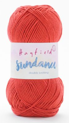 Hayfield Sundance DK 100g - 505 Perfectly Pomegranate - CLEARANCE PRICE £2.25